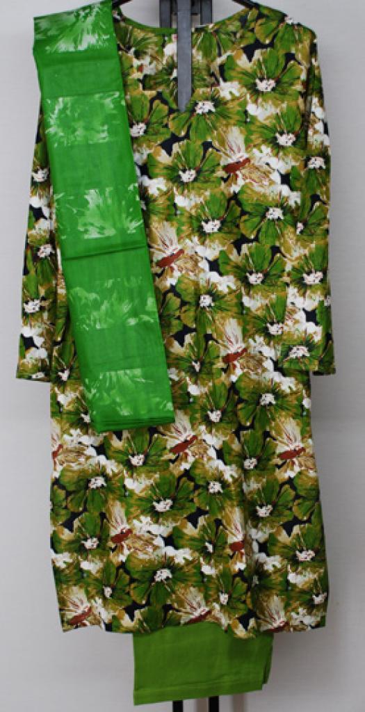 Geranium Print Cotton Salwar Kameez sk1163