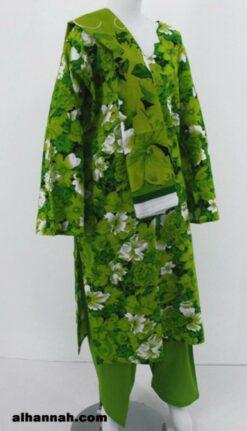 Multitone Large Floral Pattern 100% Cotton Salwar Kameez sk1165