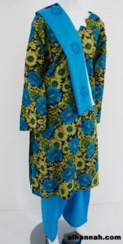 Sunflower Print Cotton Salwar Kameez  sk1172