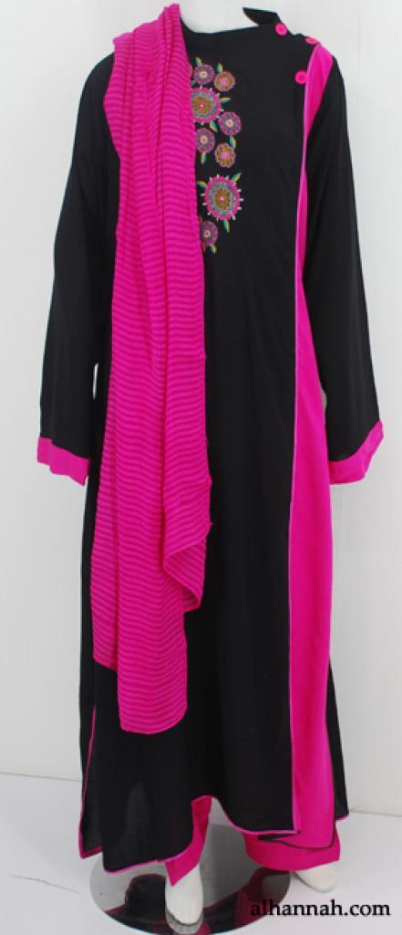 Premium Embroidered Rayon-blend Salwar Kameez sk1183