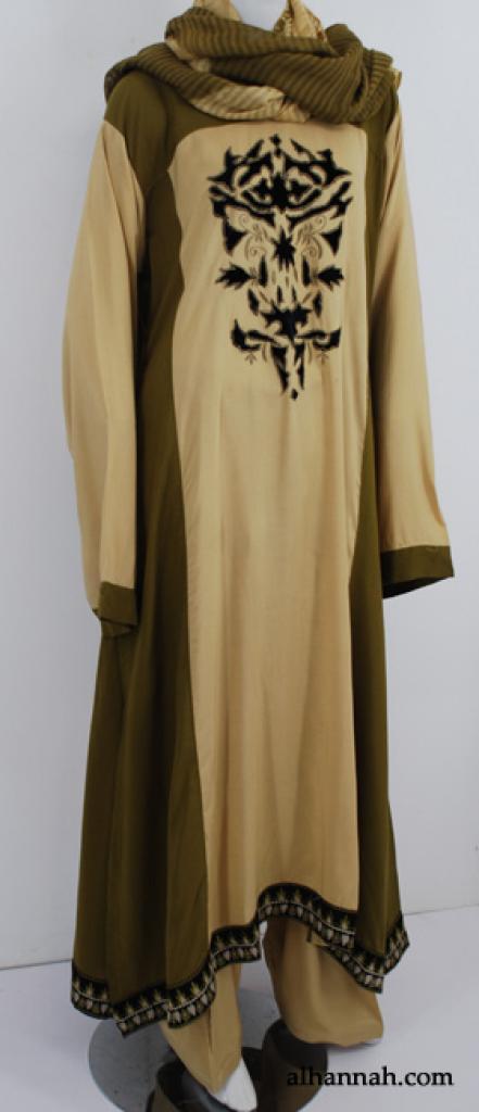Premium Embroidered Rayon-blend Salwar Kameez sk1186