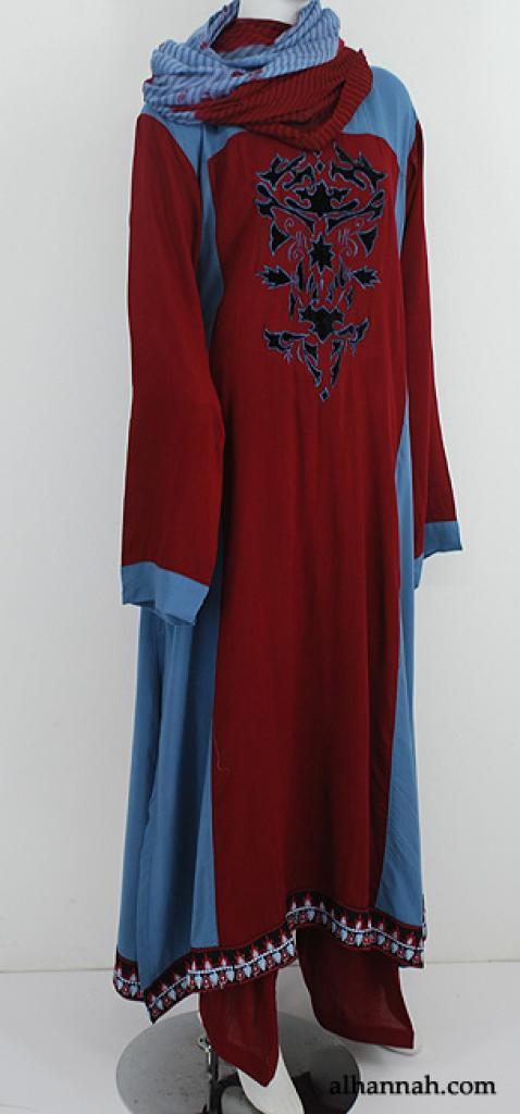 Premium Embroidered Rayon-blend Salwar Kameez sk1187