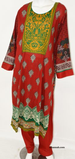 Fadilah Salwar Kameez - Premium Lawn Cotton sk1212