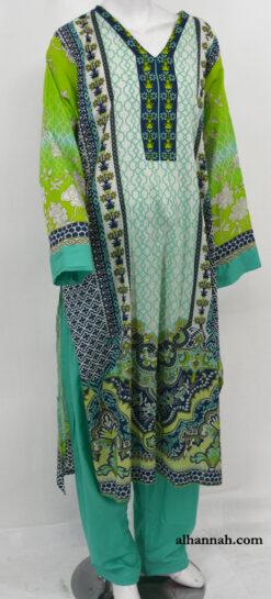 Hayat Salwar Kameez - Premium Lawn Cotton sk1213