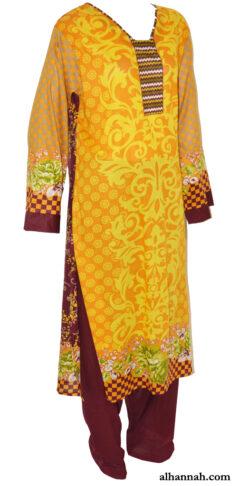 Malika Salwar Kameez - Premium Lawn Cotton sk1216