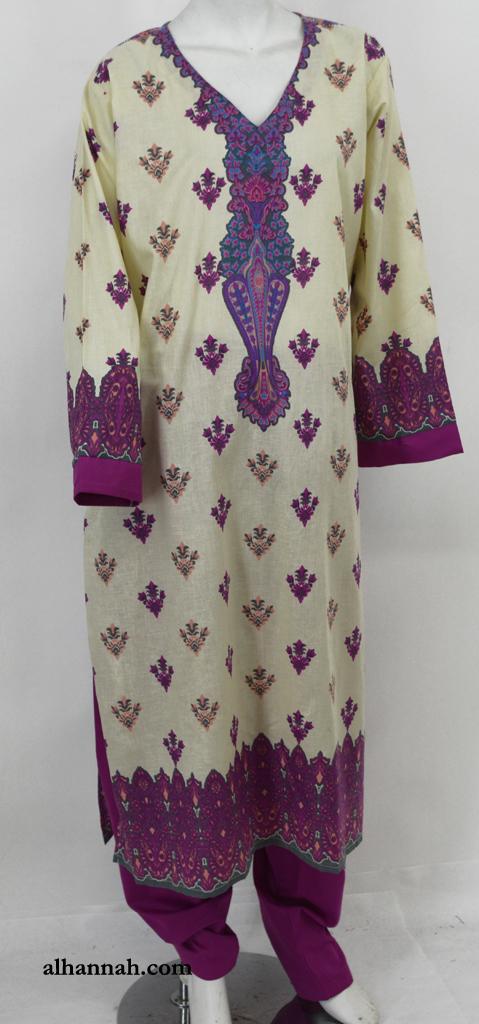 Munirah Salwar Kameez - Premium Cotton sk1222