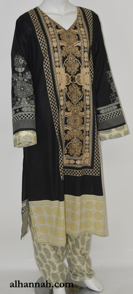 Sahlah Salwar Kameez - Premium Cotton sk1227
