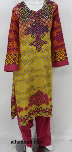 Samirah Salwar Kameez - Premium Cotton sk1231