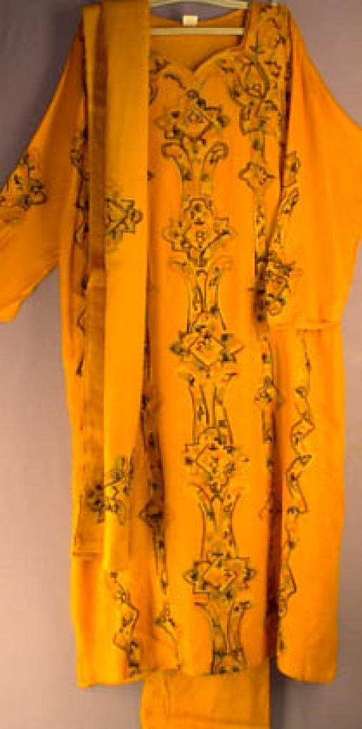 Cotton blend embroidered Salwar kameez  sk159