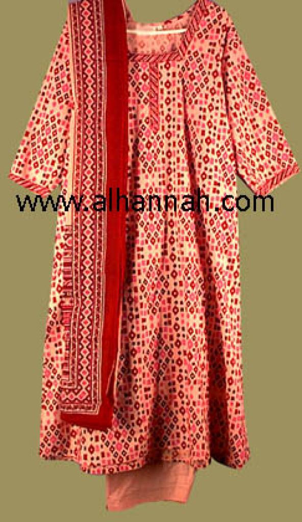 Exotic Pink Print Salwar Kameez sk411