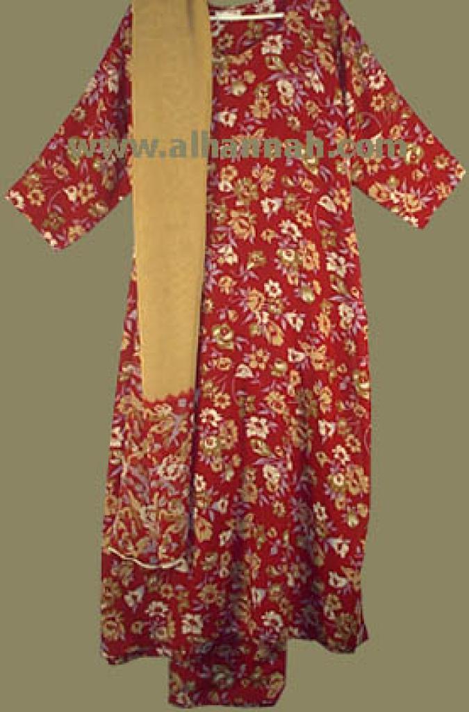 Red Floral  Salwar Kameez  sk430