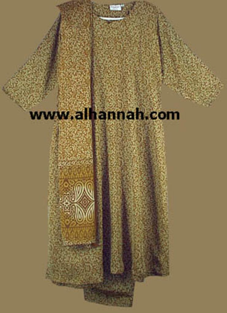Bronze Paisley Salwar Kameez sk436