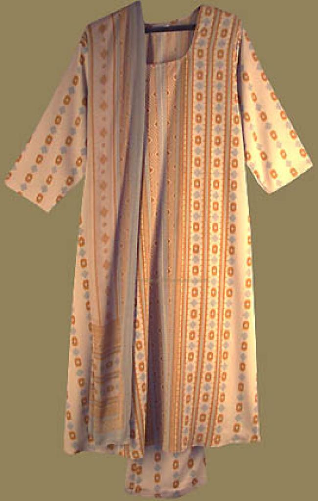 Striped Salwar Kameez sk504