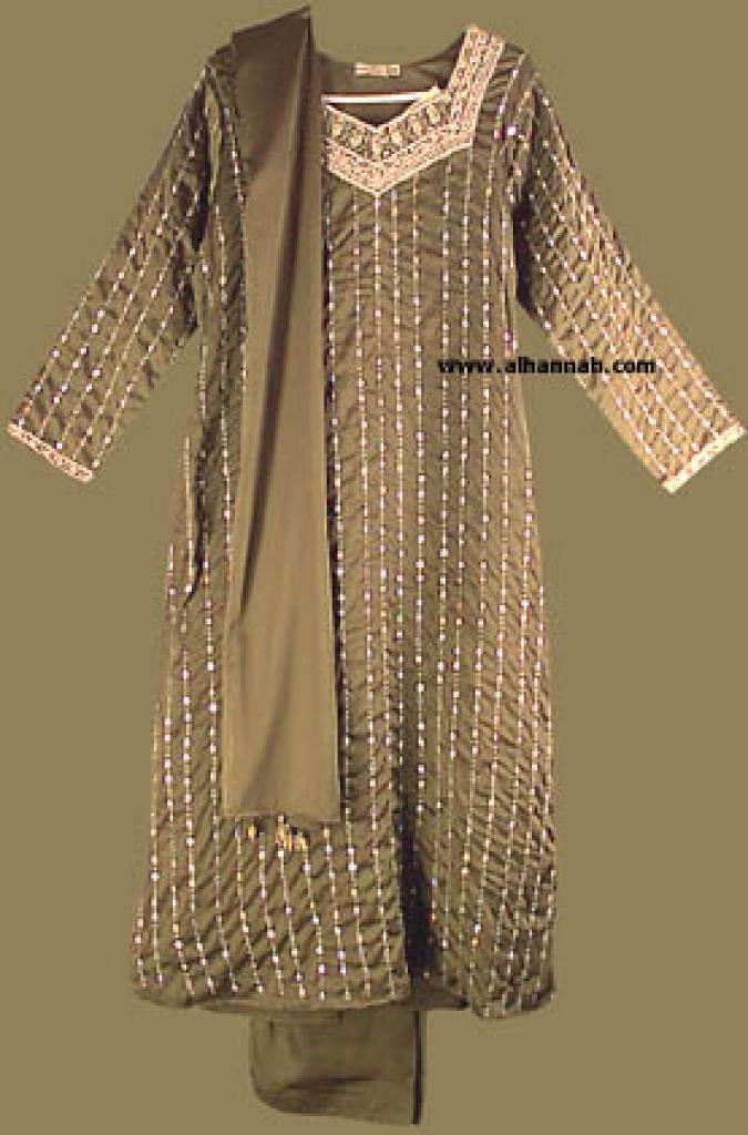 Embroidered and Seqined Salwar Kameez sk544