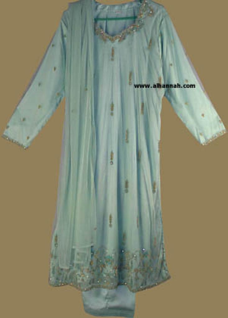 Festive Beaded and Sequined Salwar Kameez   sk545