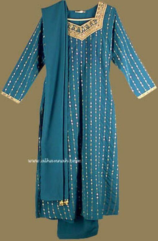 Embroidered and Seqined Salwar Kameez   sk562