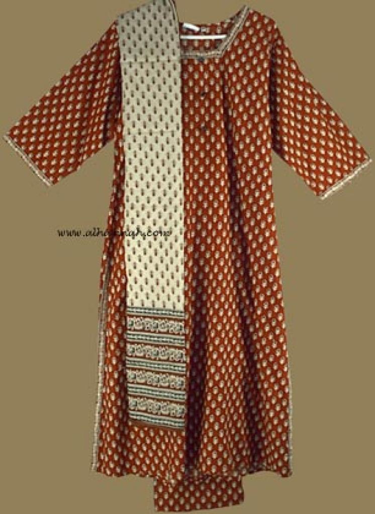 Traditional Print Salwar Kameez   sk565