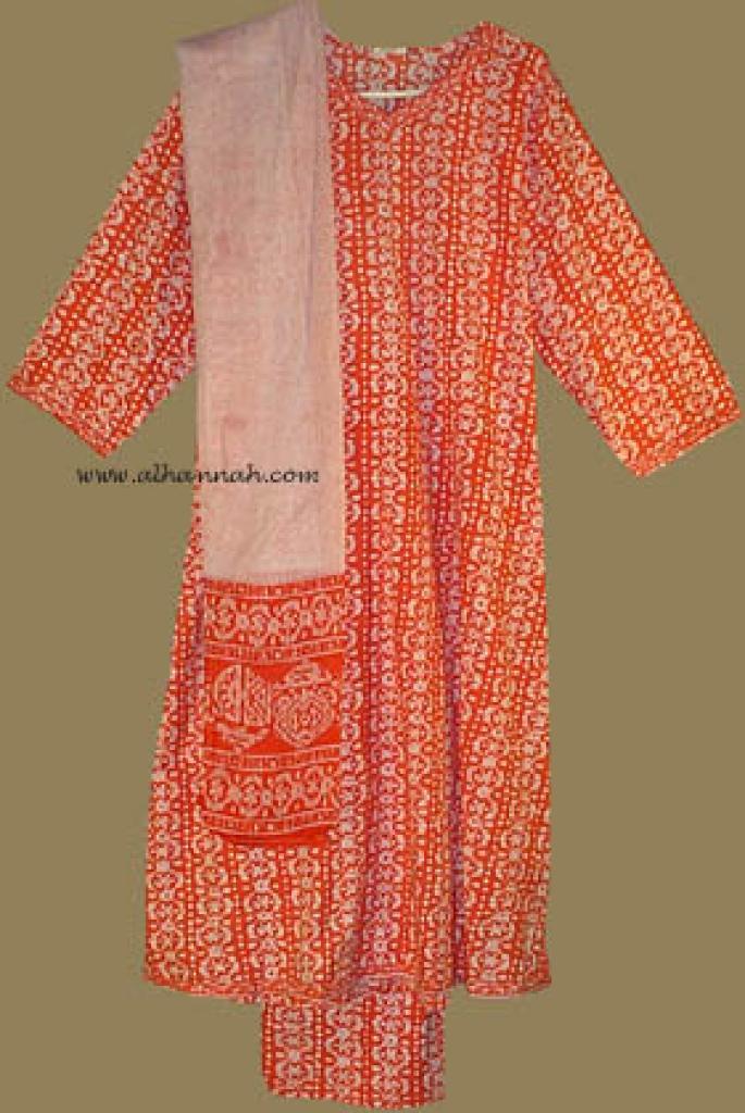 Traditional Print Salwar Kameez   sk572