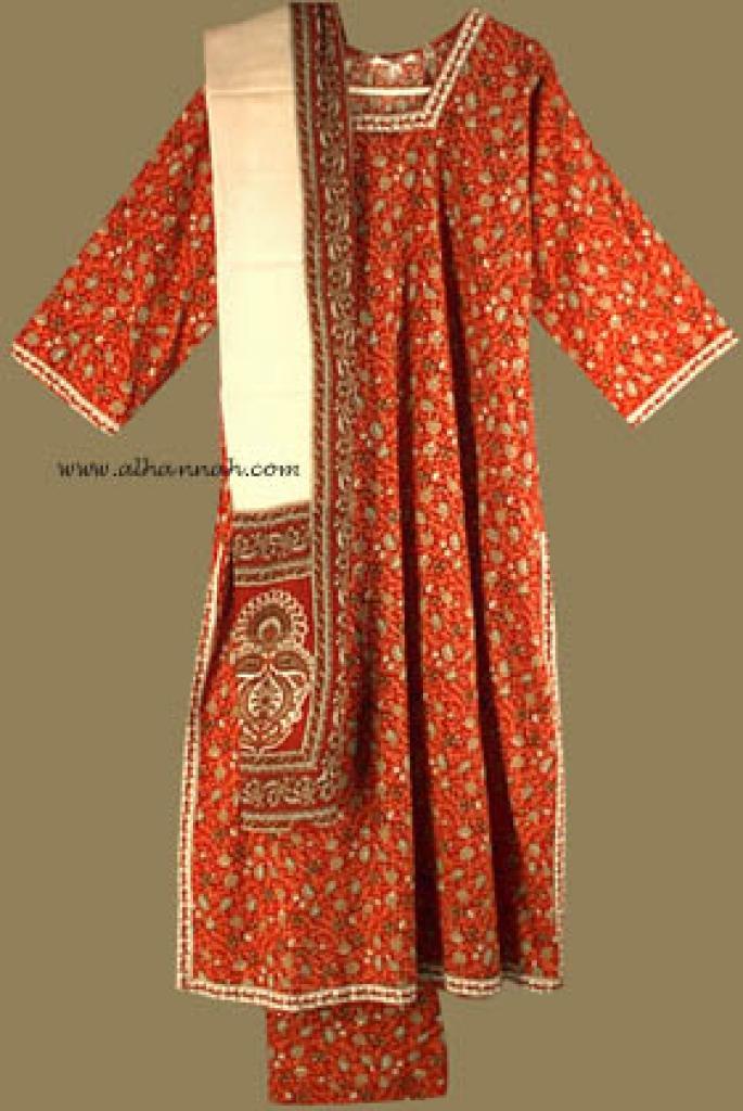 Traditional Floral  Salwar Kameez   sk574