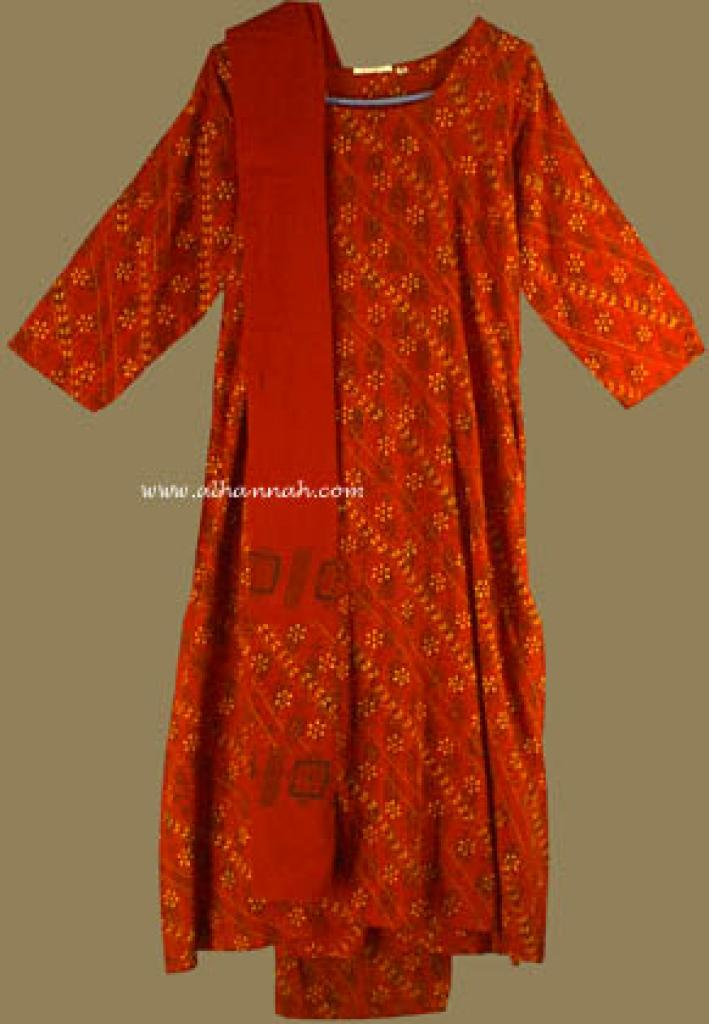 Traditional Print Salwar Kameez   sk577