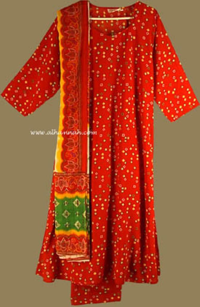 Traditional print Salwar Kameez   sk581