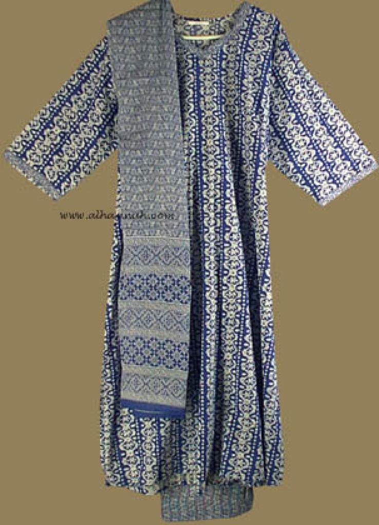 Traditional print Salwar Kameez   sk582