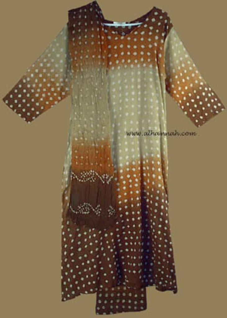 Tye Dye Salwar Kameez  sk583