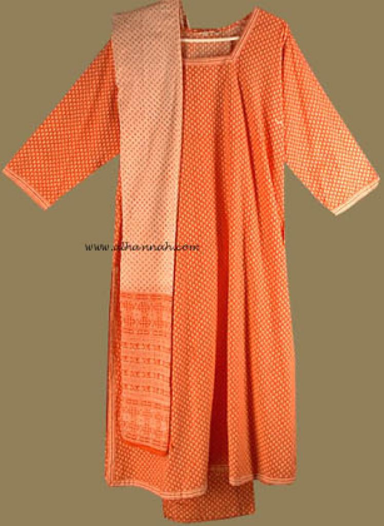 Traditional Print Salwar Kameez   sk587