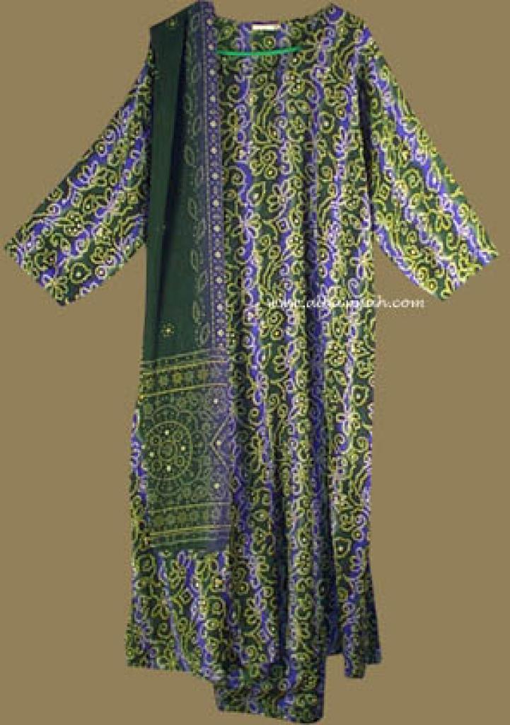 Traditional Floral  Salwar Kameez   sk588