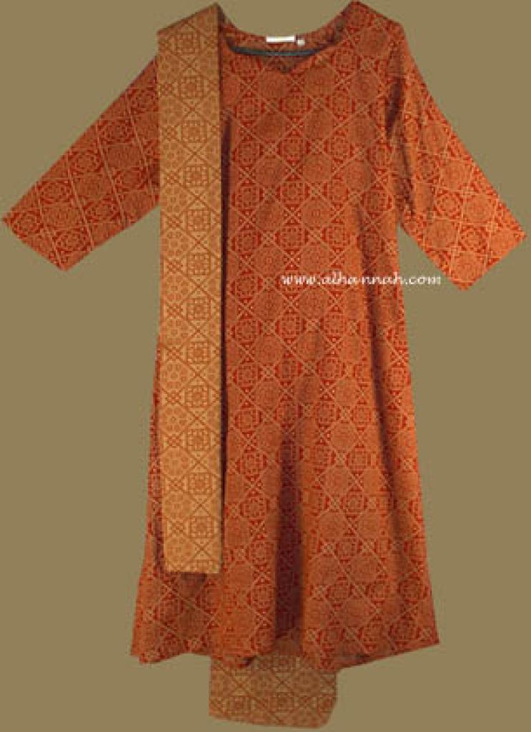 Traditional Print Salwar Kameez sk589