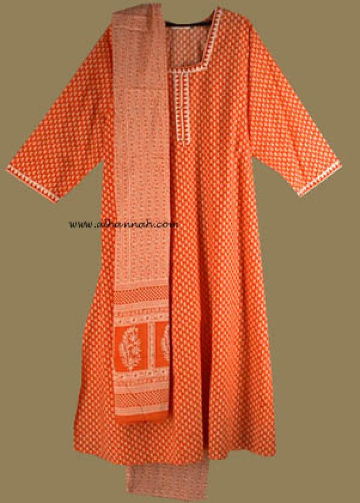 Traditional Print Salwar Kameez   sk591