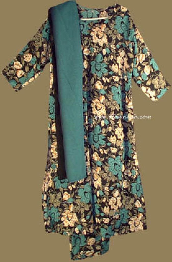 Traditional Floral  Salwar Kameez   sk592