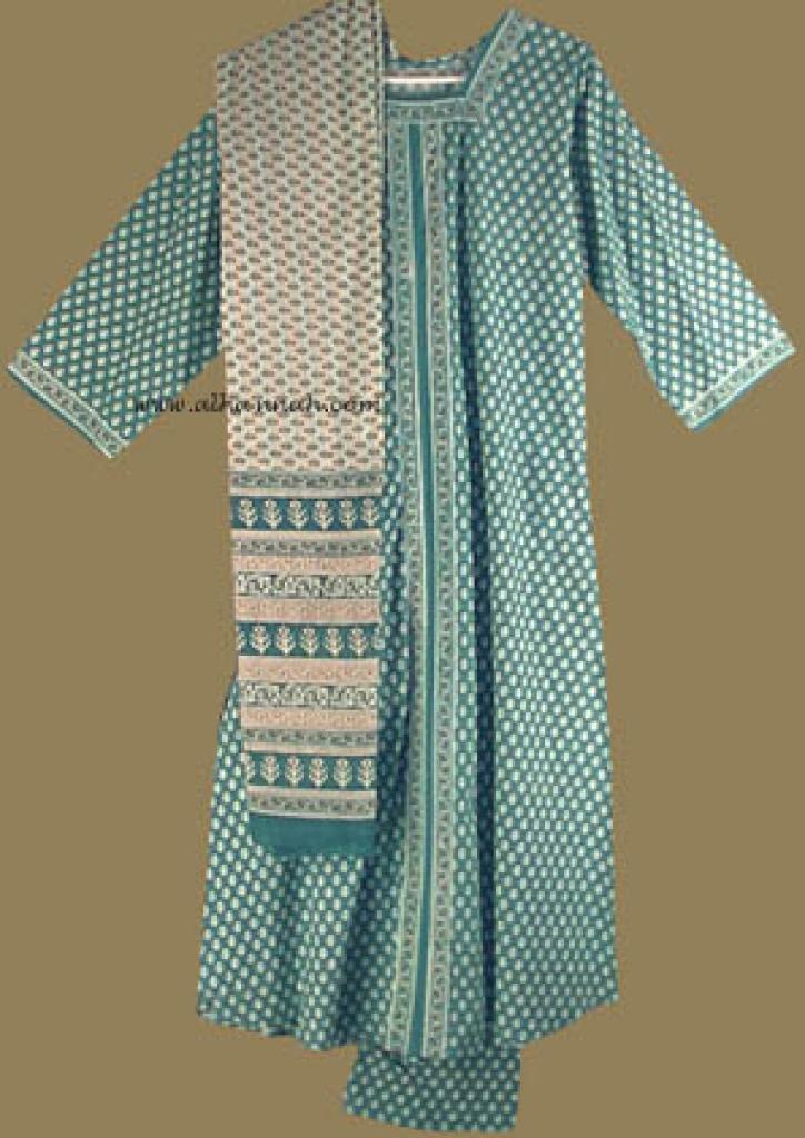 Traditional Print Salwar Kameez sk597