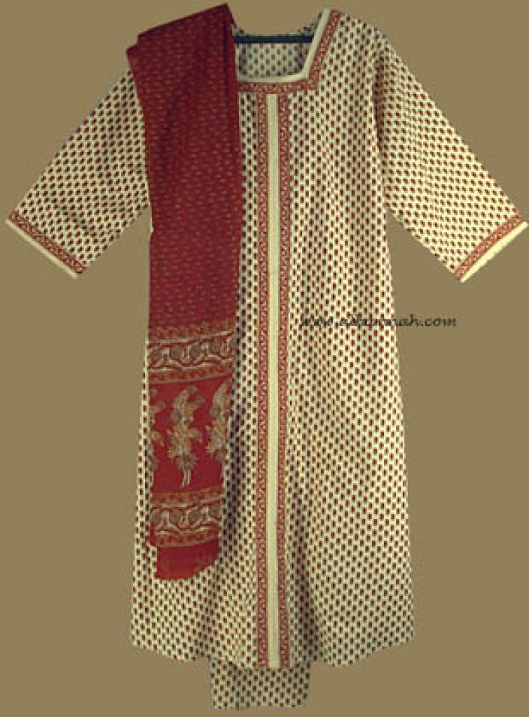 Traditional Floral Salwar Kameez   sk602