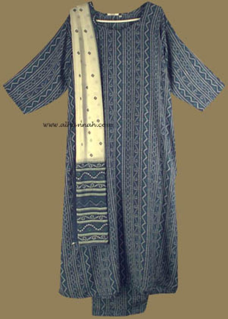 Traditional Print Salwar Kameez   sk603
