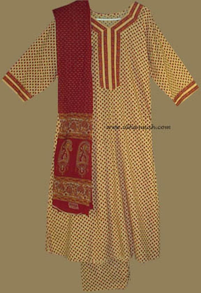 Traditional Floral Salwar Kameez   sk607