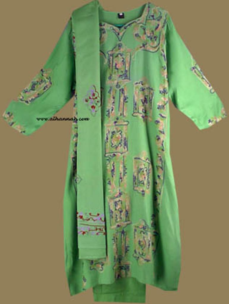 Embroidered Cotton Salwar Kameez sk628