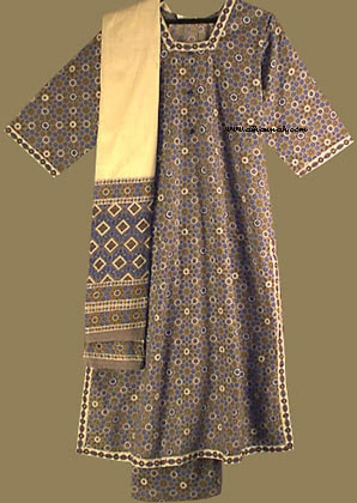 Traditional Print Salwar Kameez sk631