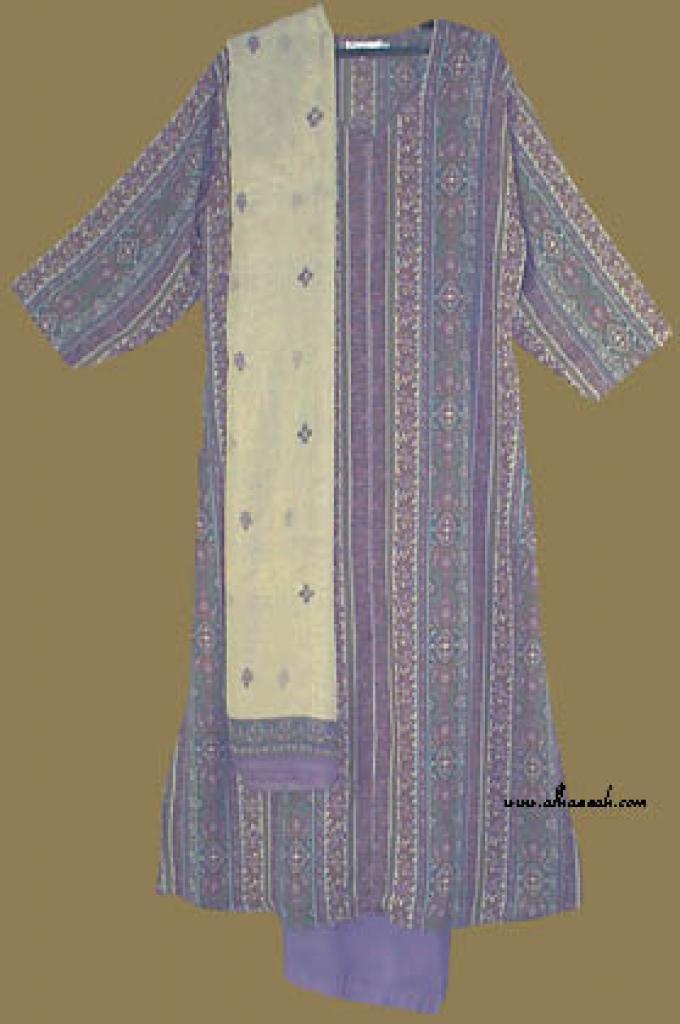 Traditional Striped Salwar Kameez  sk646