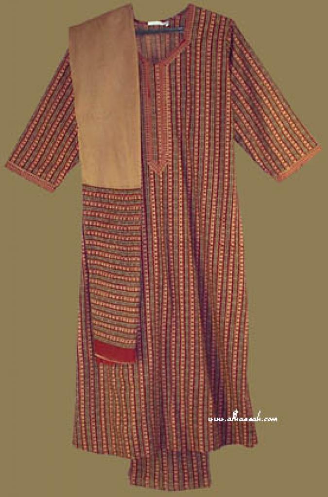 Traditional Striped Salwar Kameez  sk647