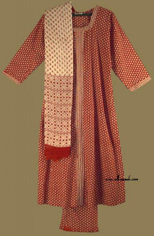 Traditional Floral Salwar Kameez   sk657