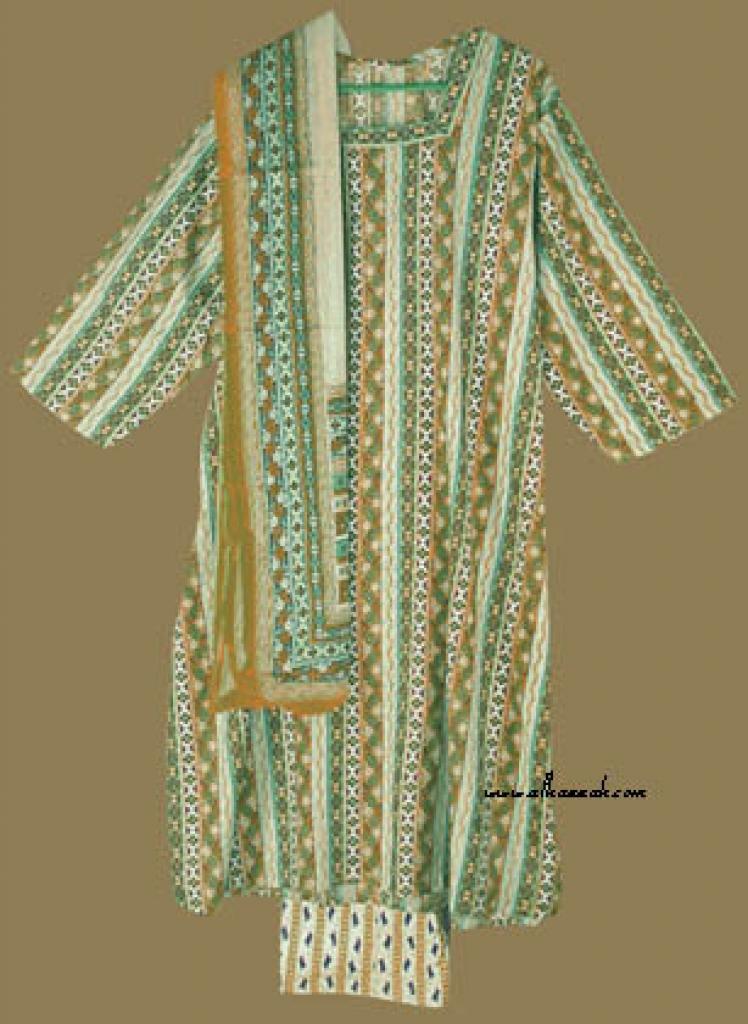 Traditional Print Salwar Kameez   sk668