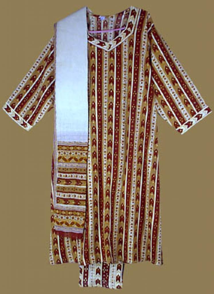 Traditional Print Salwar Kameez   sk671
