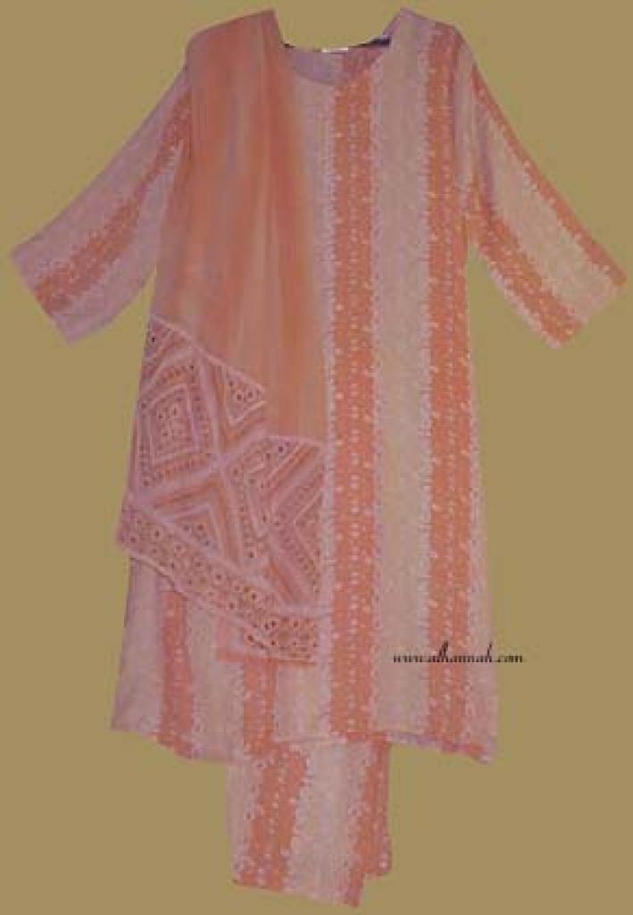 Traditional Stripe Print  Salwar Kameez   sk683