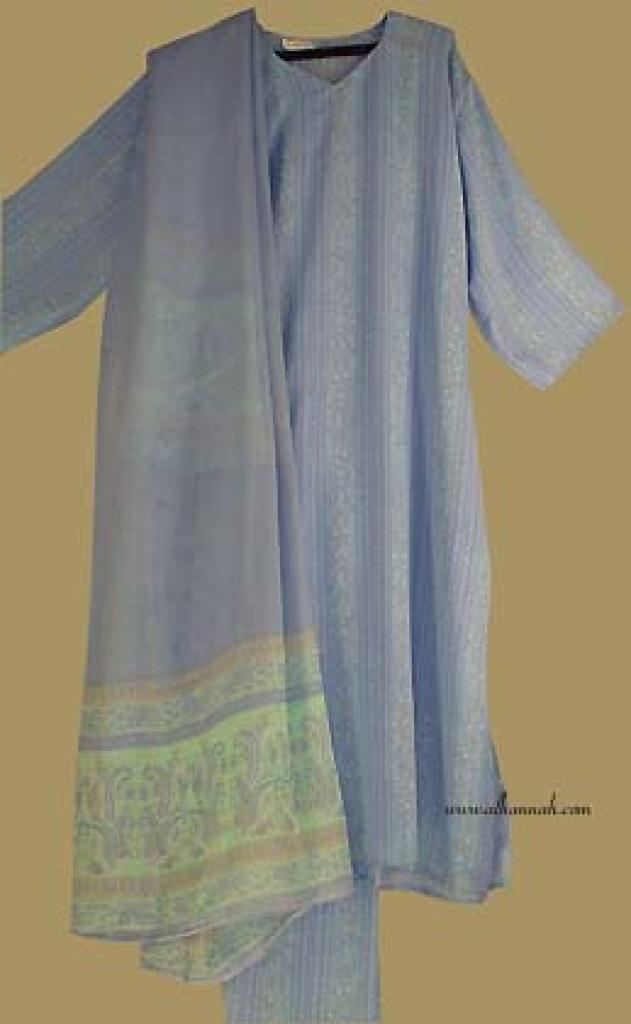 Traditional Stripe Print  Salwar Kameez   sk685