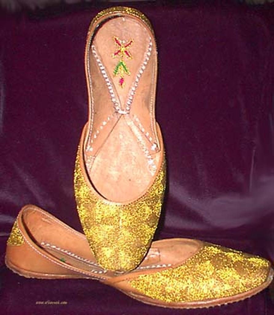 Women's Classic Punjabi Shoes sk687