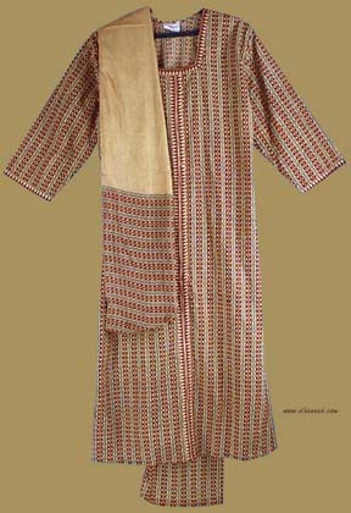 Traditional Print Salwar Kameez   sk703