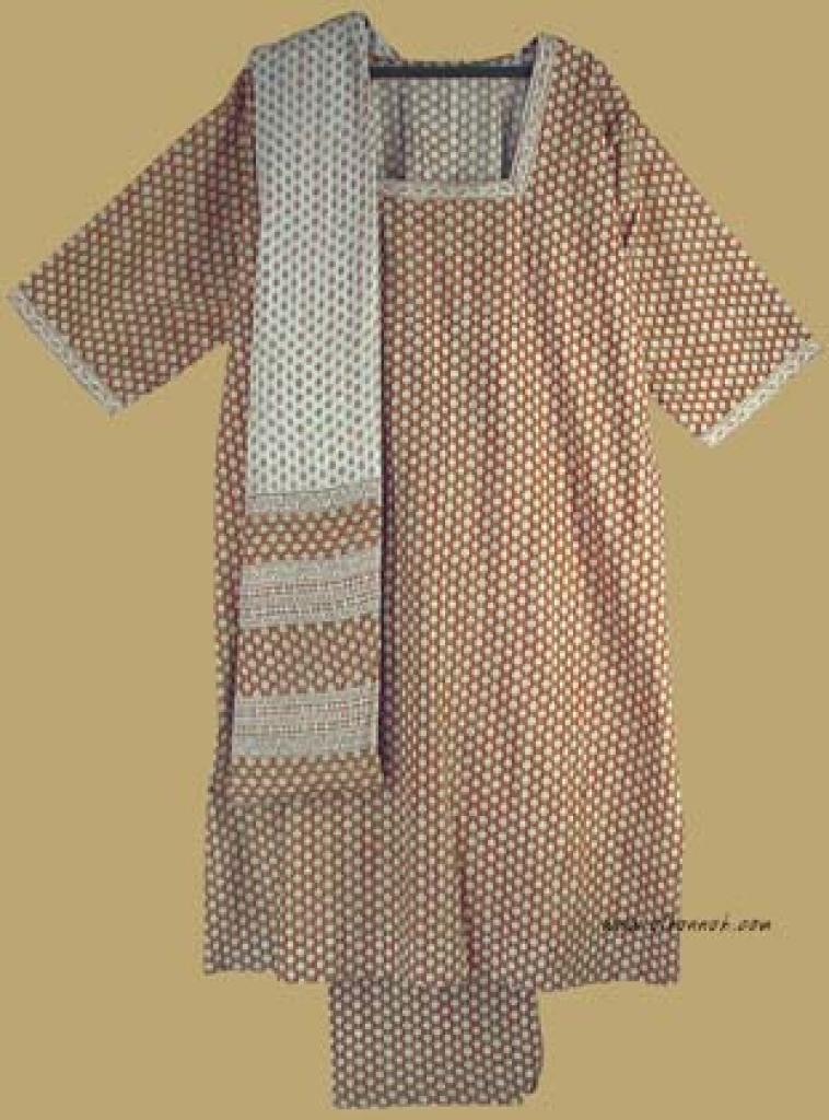 Traditional Print Salwar Kameez   sk708