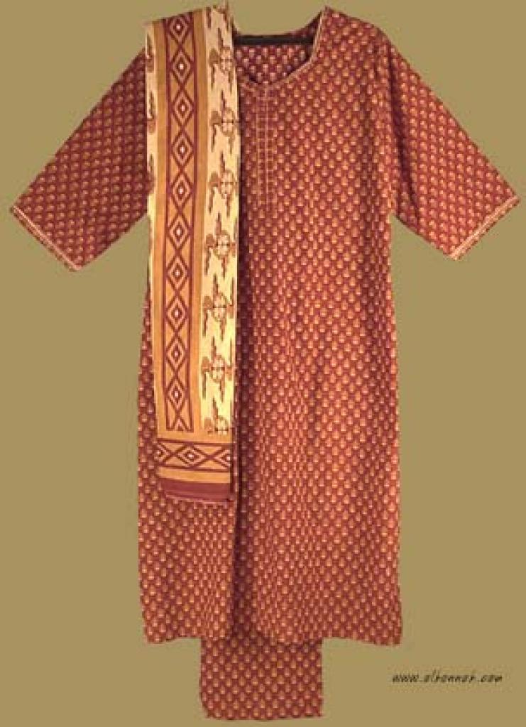 Traditional Print Salwar Kameez   sk709