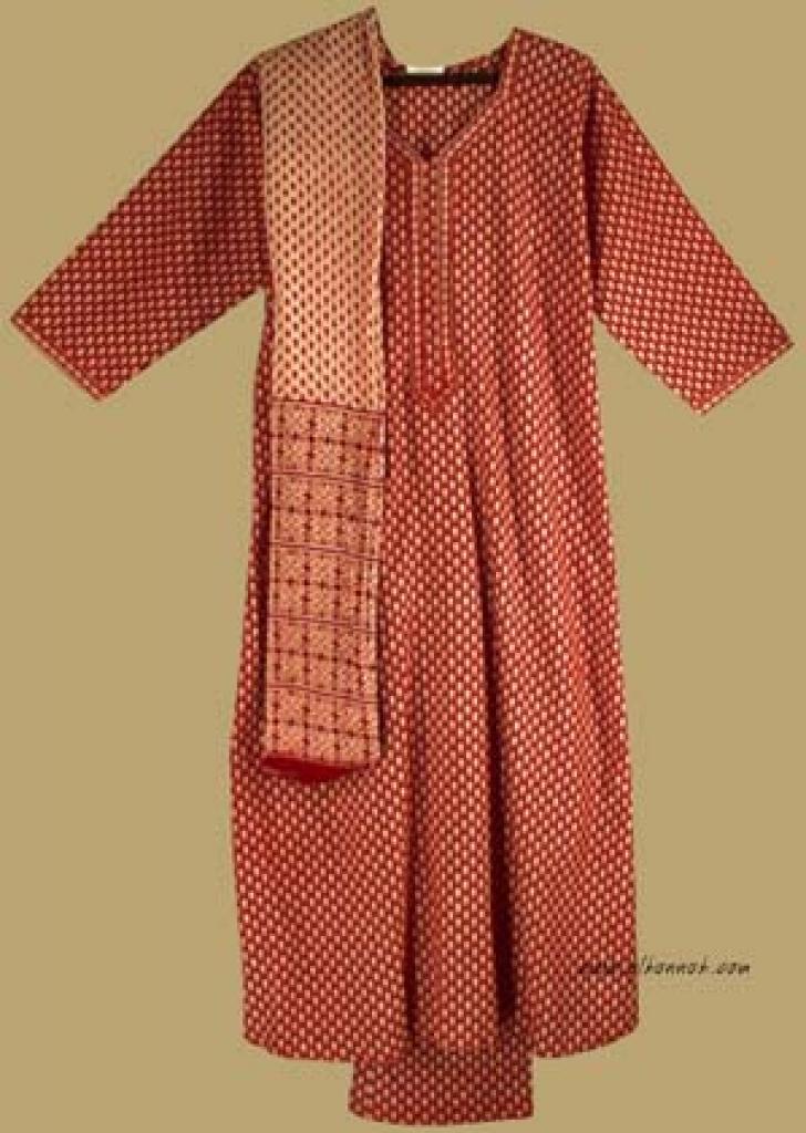 Traditional Print Salwar Kameez   sk710